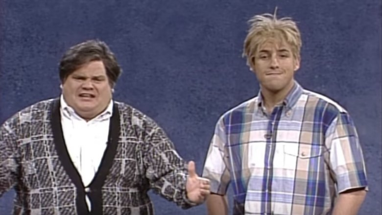Chris Farley, Adam Sandler SNL sketch