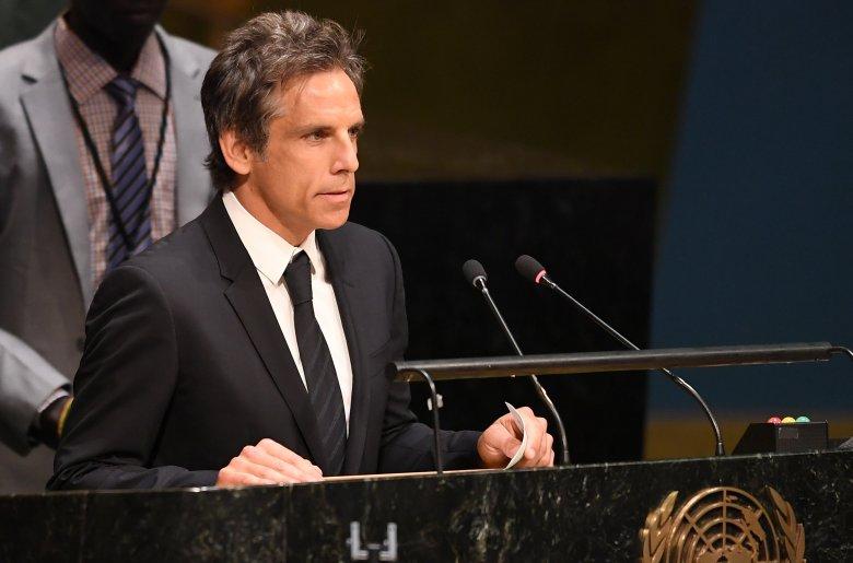 Ben Stiller Goodwill Ambassador