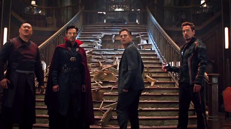 Avengers: Infinity War Doctor Strange Iron Man Bruce Banner Wong