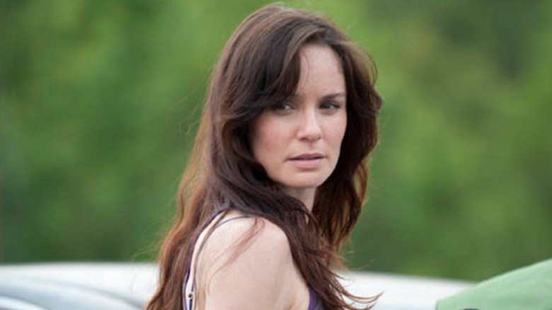 Sarah Wayne Callies as Lori Grimes on The Walking Dead