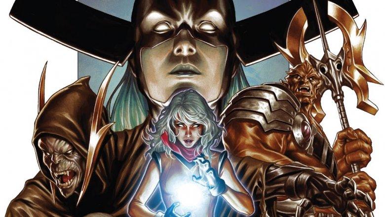 The Black Order on cover of Avengers #681