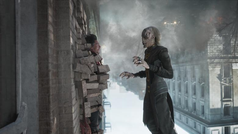 Ebony Maw and Doctor Strange