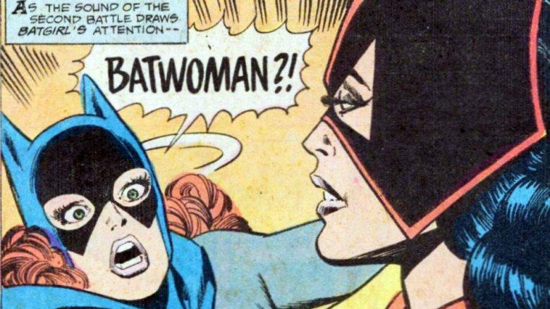 Batgirl and Batwoman