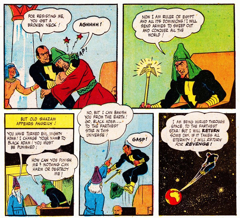 Black Adam To Say That Captain Marvel Was Popular In The 40s Might Be Biggest Understatement Superhero History He Legendarily Outsold Superman