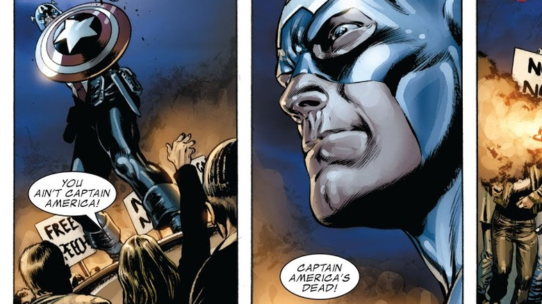 Bucky Barnes/Captain America