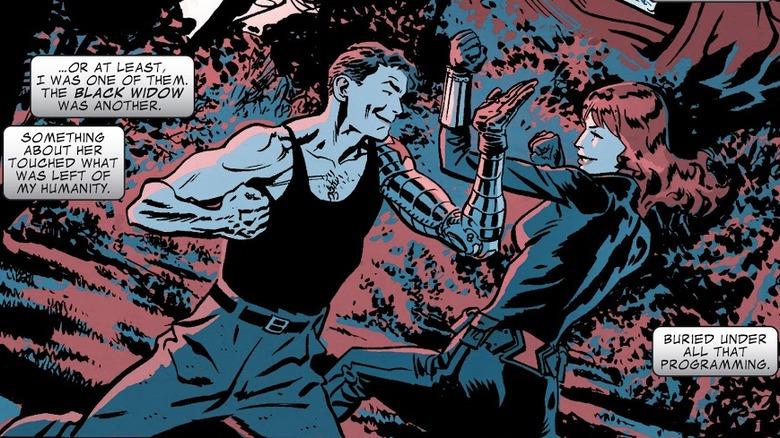 Bucky Barnes/The Winter Soldier and Natasha Romanoff/Black Widow