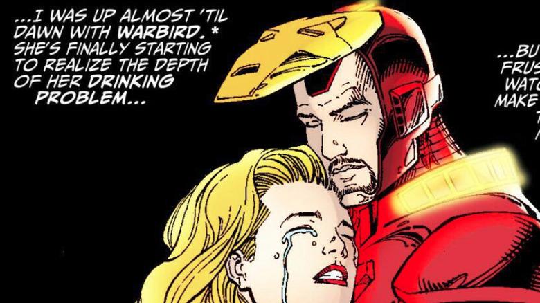 Warbird and Tony Stark