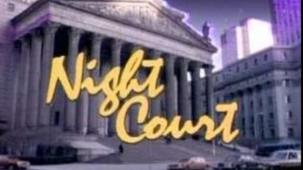 Night Court opening title screen