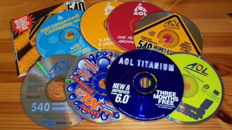 AOL discs