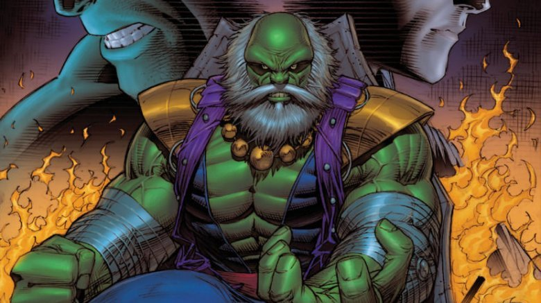 The Maestro from variant cover art for 2015's Future Imperfect
