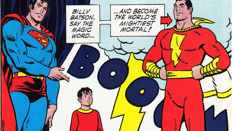 Superman and Shazam