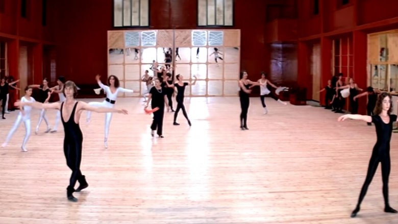 The rehearsal scene in Suspiria