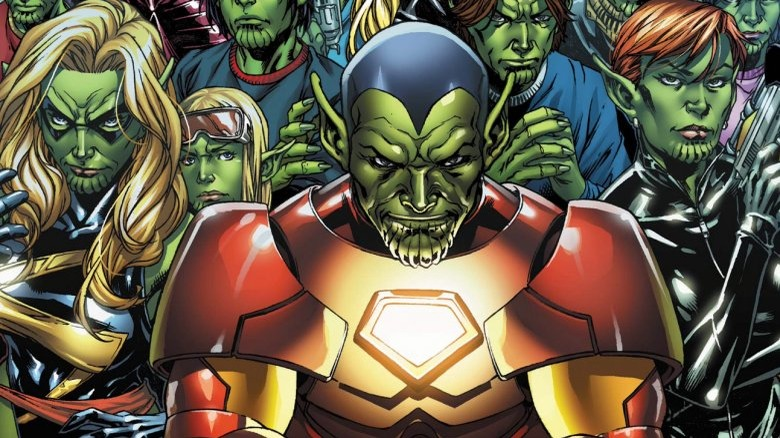 Skrulls disguised as superheroes in Secret Invasion