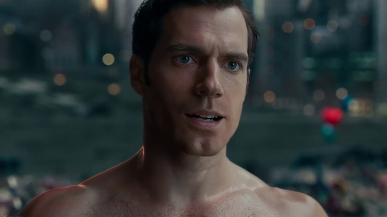 Henry Cavill in Justice League