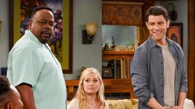Cedric the Entertainer, Beth Behrs, Max Greenfield