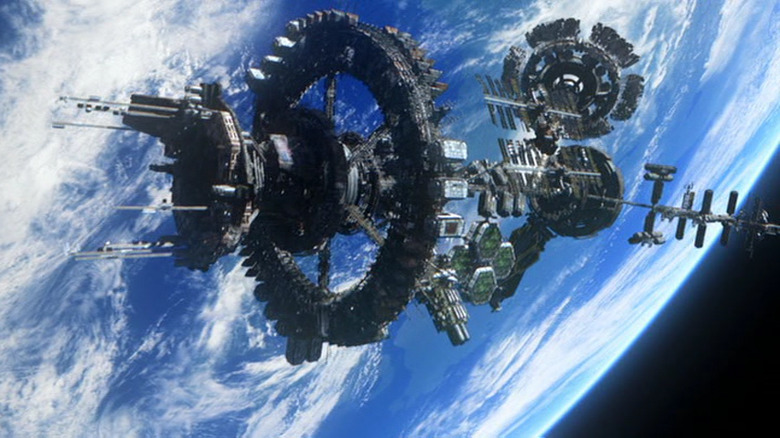 The space station on The 100