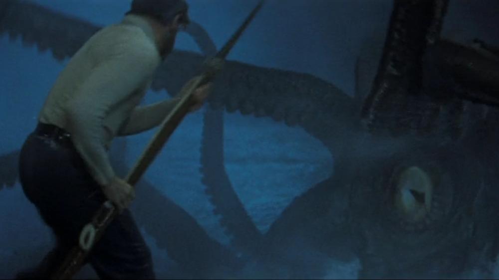 Nemo battles giant squid