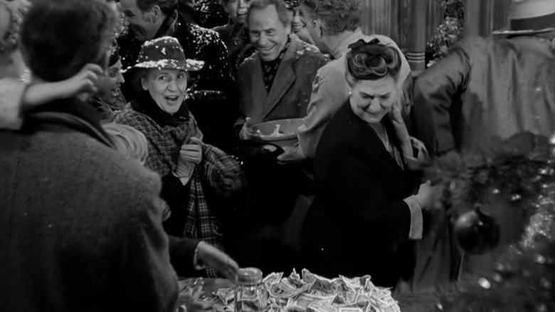 Townspeople in It's a Wonderful Life