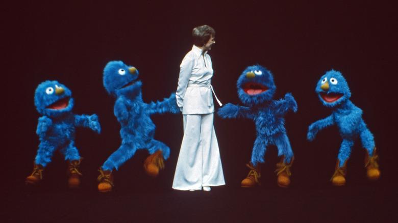 Full-body Muppets dancing