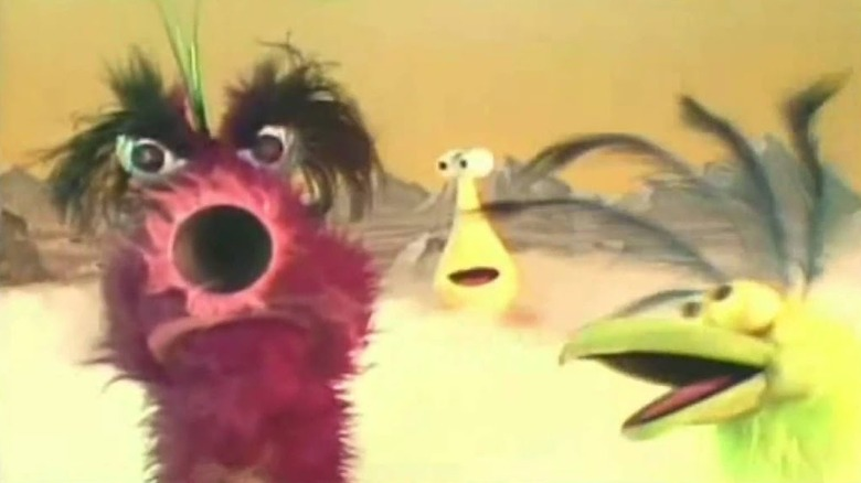 Muppets on a smoky planet