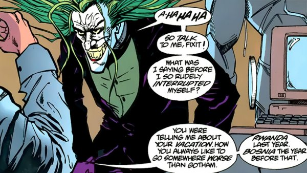 Things the Joker can do that Batman can't