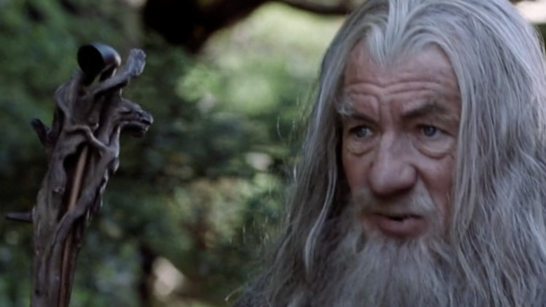 Lord of the Rings Gandalf pipe staff