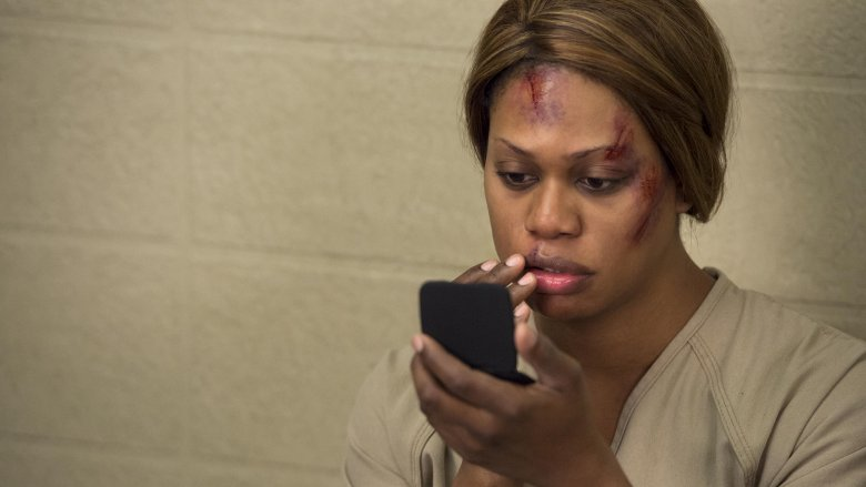 Laverne Cox in Orange is the New Black