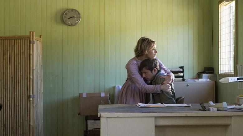 Amy Seimetz and Kentucker Audley in 'The Sacrament'
