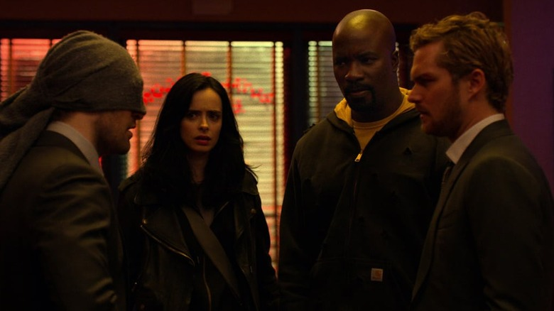 The cast of The Defenders