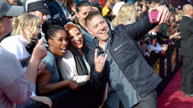 Ray Park at Solo Star Wars Story premiere