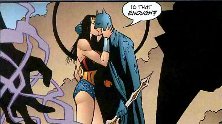 wonder woman and batman love