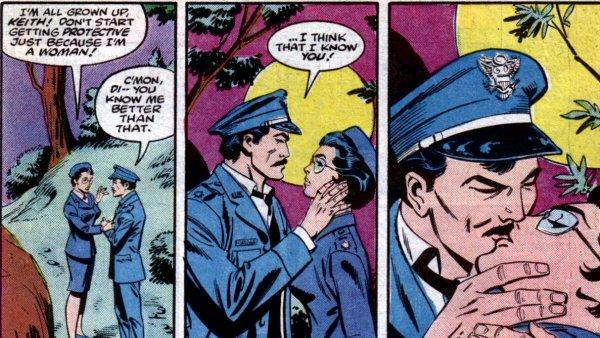 The secret history of Wonder Woman's love life
