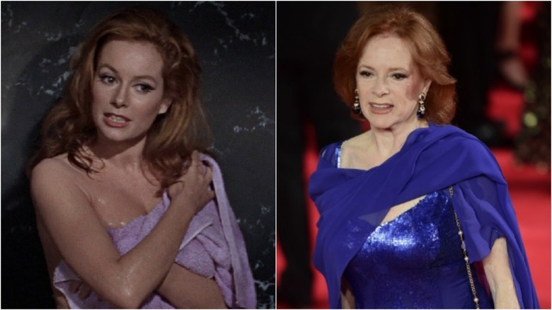 Luciana Paluzzi then and now