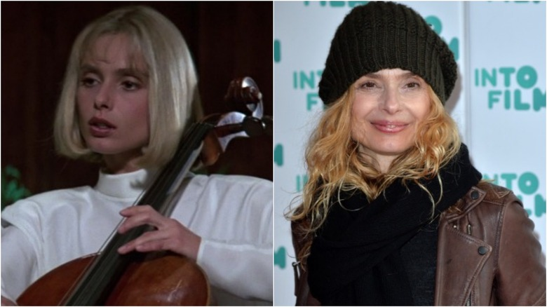 Maryam d'Abo then and now