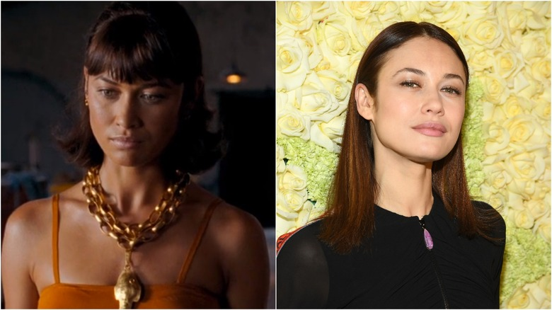 Olga Kurylenko then and now