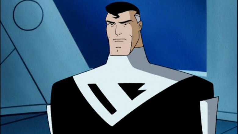 Superman in the Batman Beyond cartoon