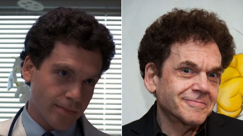 Charles Fleischer then and now