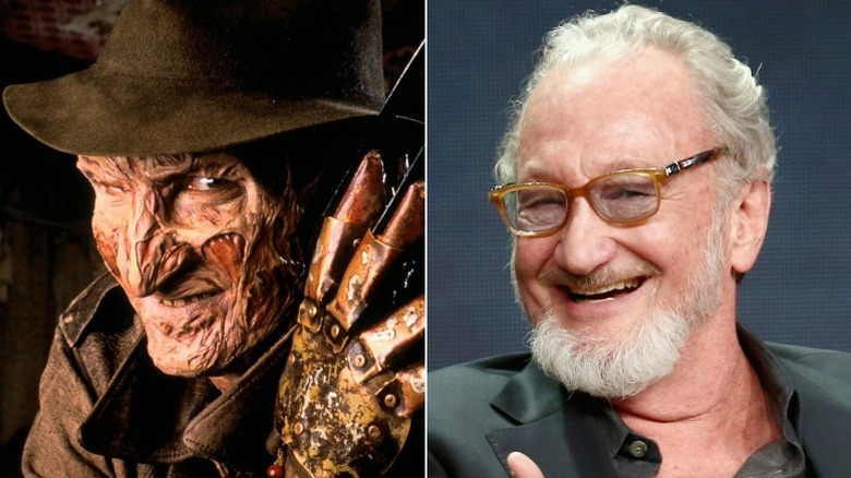 Robert Englund then and now