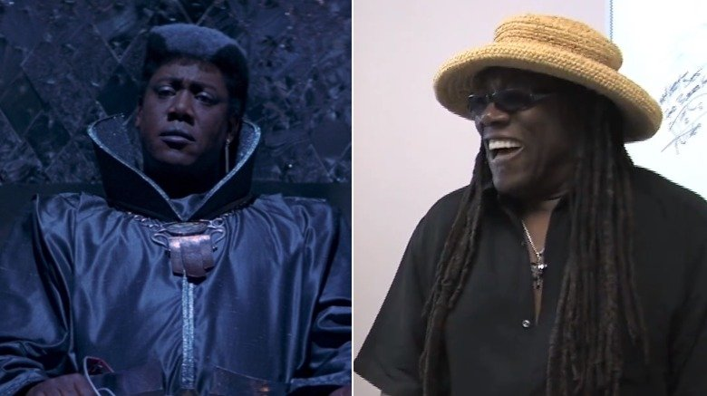 Clarence Clemons as one of The Three Most Important People In The World