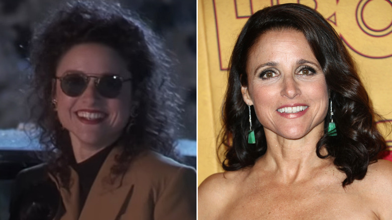 while todd and margo chester julia louis dreyfus love to take digs at their neighbor clark griswold only margo has the guts to actually do anything about - National Lampoon Christmas Vacation Cast