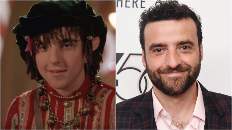 David Krumholtz then and now
