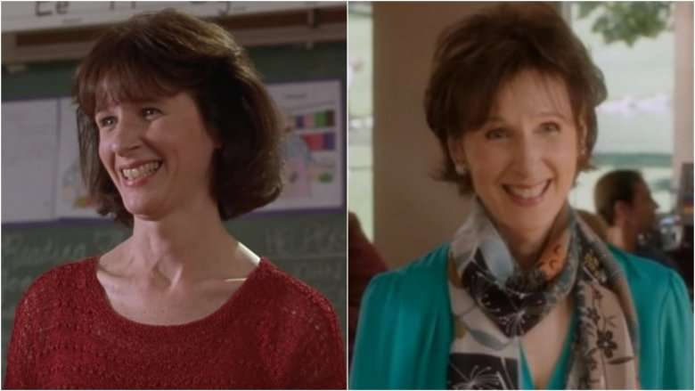 Mary Gross then and now
