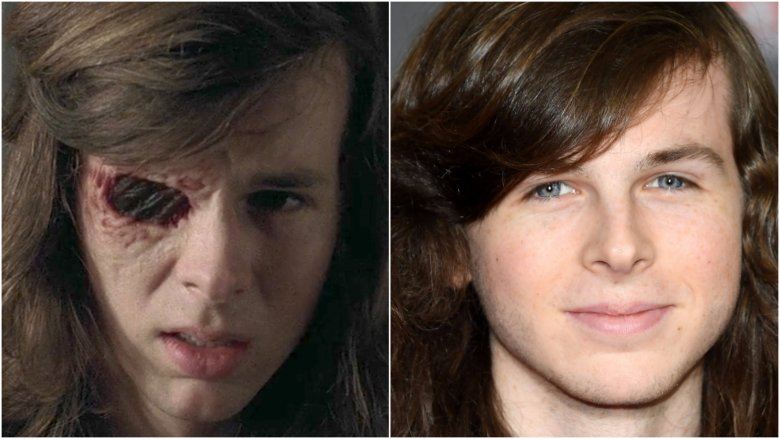 How the cast of the walking dead really looks chandler riggs carl m4hsunfo
