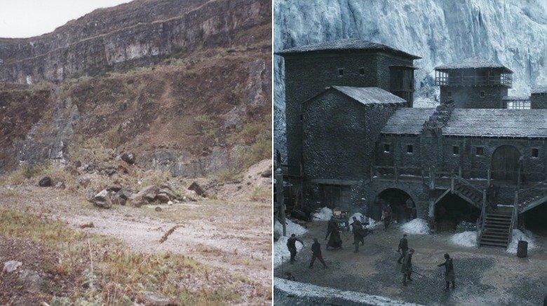 Magheramorne Quarry (Castle Black)