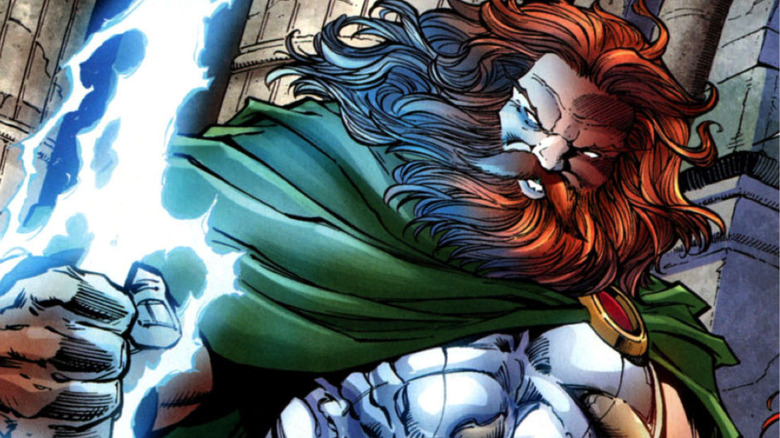 The Marvel Comics version of Zeus, king of the Greek gods