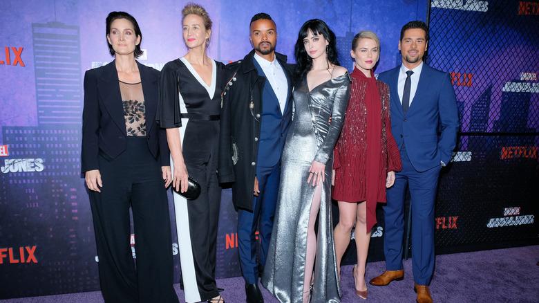 The cast of Jessica Jones