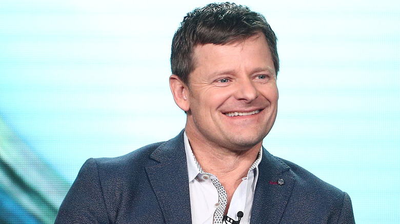 Steve Zahn doing press