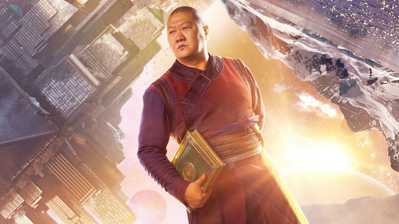 Wong in promo art for Doctor Strange