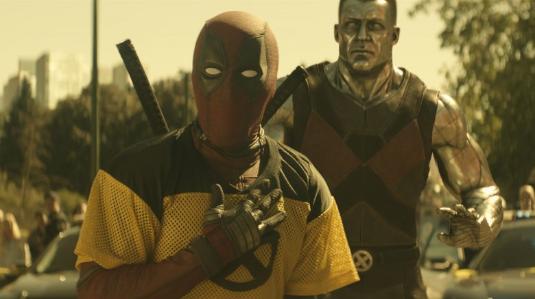 Deadpool and Colossus in Deadpool 2