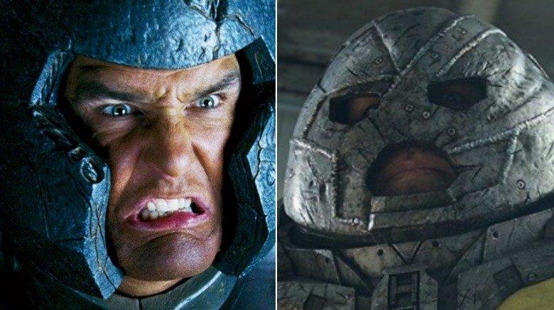 Split image of Vinnie Jones as Juggernaut in X-Men: The Last Stand and the CGI rendered Juggernaut of Deadpool 2